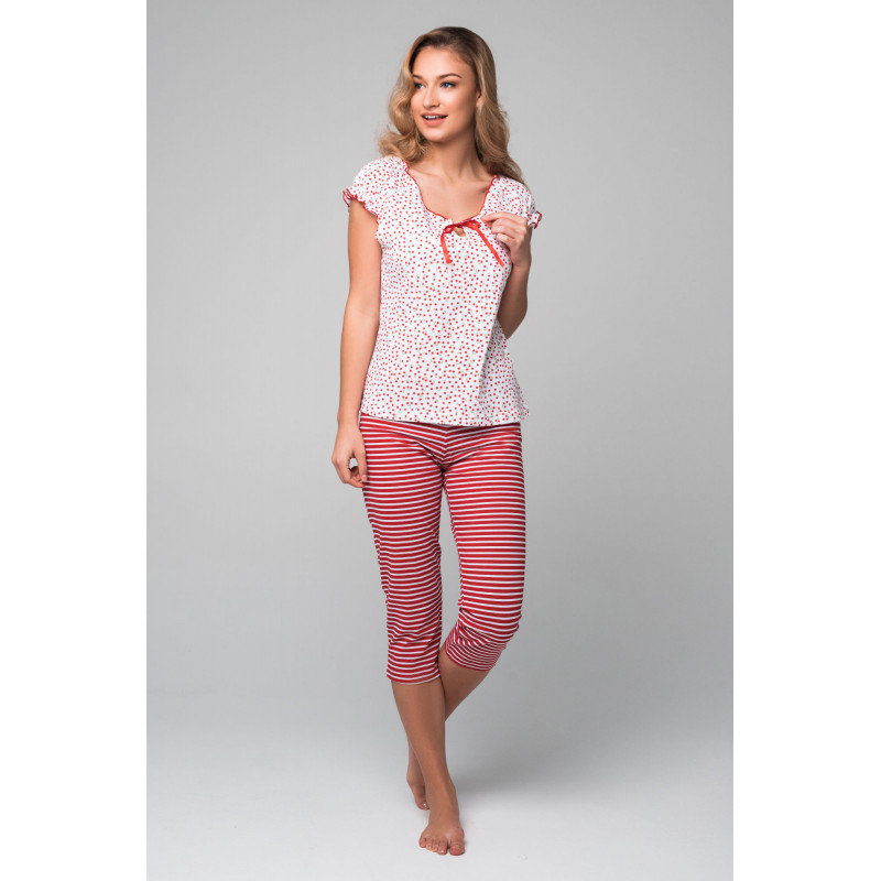 Dámske pyžamo Lady Belty 19V-0115J-05 - barva:BELUNI/šedá, velikost:XXL