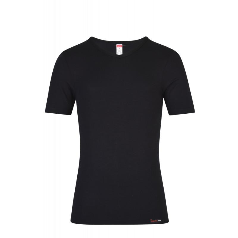 Pánske tričko s krátkym rukávom Con-ta 6670 - barva:CON750/čierna, velikost:M