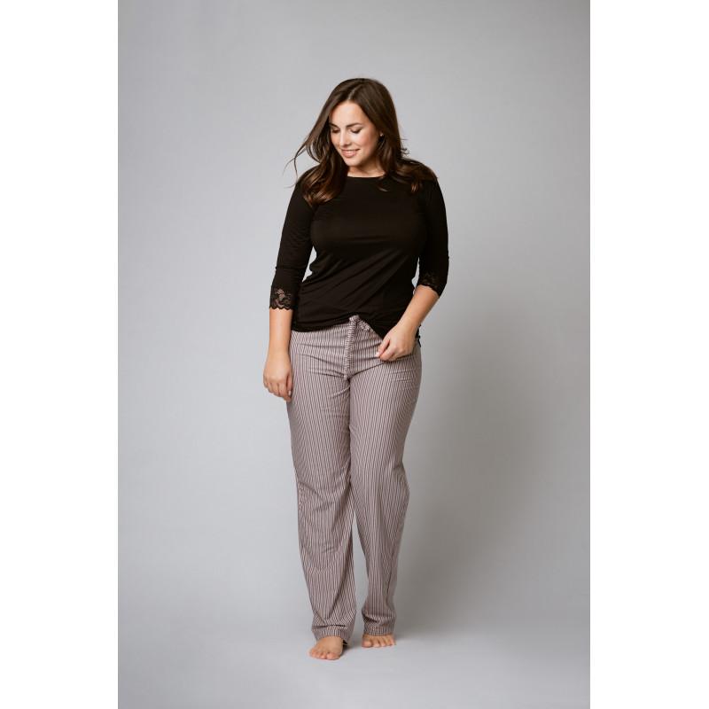 Pyžamo - nohavice f62002b - barva:XBV14/rosé, velikost:XXL