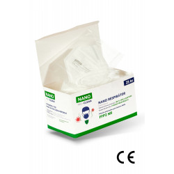 25x FFP2 respirátor NANO MED.CLEAN  - obrázek produktu 1