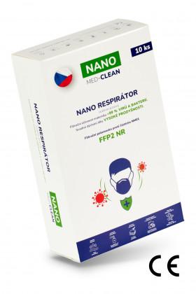 10x FFP2 respirátor NANO...