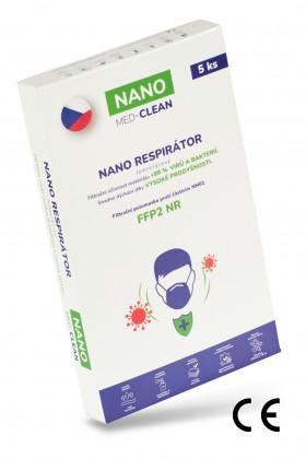 5x FFP2 respirátor NANO...