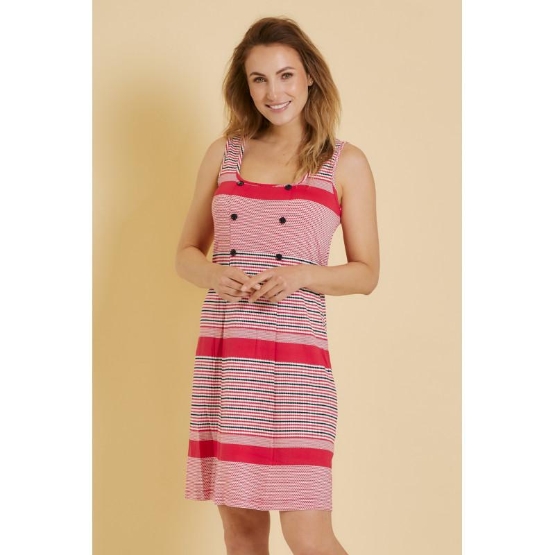Šaty Lady Belty 20V-1034V-75 - barva:BELCORAL/korálová, velikost:L